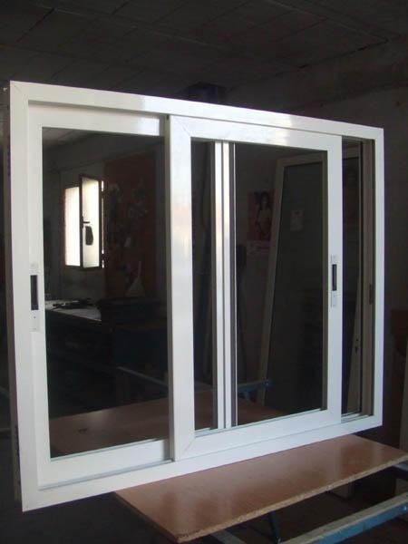 ventanas aluminio blanco por acumulacion stock mejor