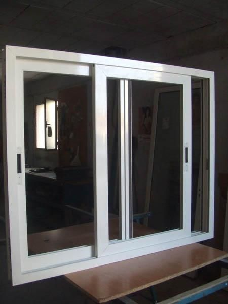 Ventanas aluminio blanco por acumulacion stock mejor for Ventana aluminio 120x120