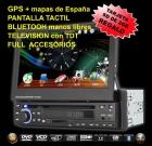 DVD para el coche.El más completo. GPS,TDT,Bluetooth.Envío GRATUITO a toda España. - mejor precio   unprecio.es