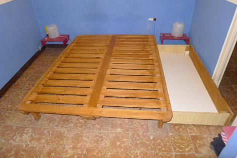 Cama de madera mejor precio for Camas de madera precios