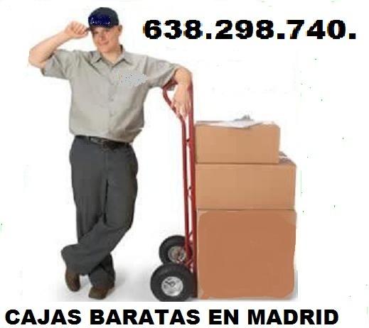 Cajas de mudanza madrid 638 298 740 cajas de carton madrid for Cajas de carton madrid