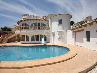 Chalet con 5 dormitorios se vende en Moraira, Costa Blanca