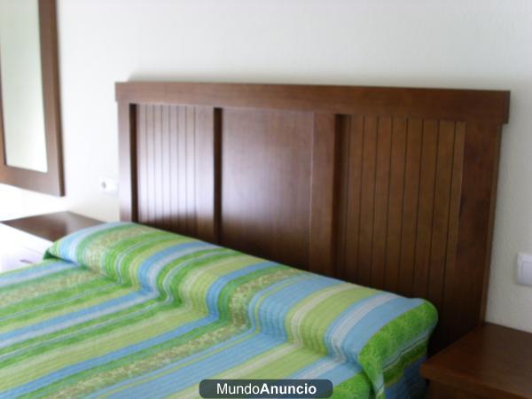 Muebles dormitorio ppal en madera modernos y de l neas for Precio muebles dormitorio