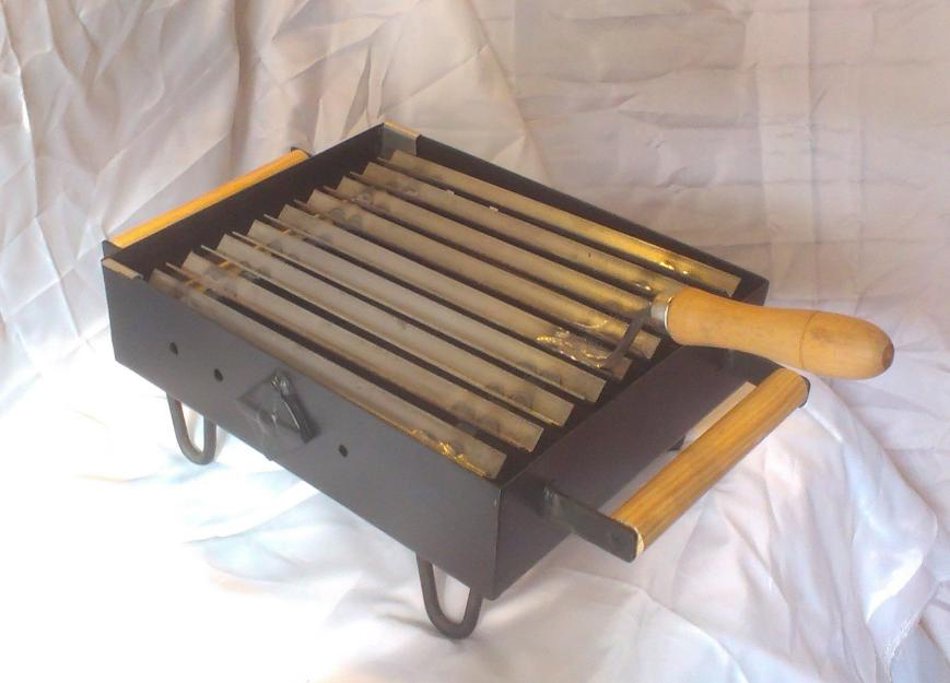 Parrilla barbacoa de mesa para carb n 170331 mejor precio - Mesa para barbacoa ...