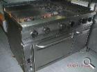 Cocina industrial 6 fuegos con horno - mejor precio | unprecio.es