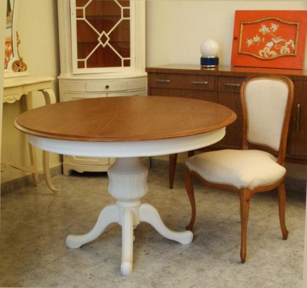 Mesas para comedor extensibles rectangulares mesa cristal - Mesas redondas cristal comedor ...