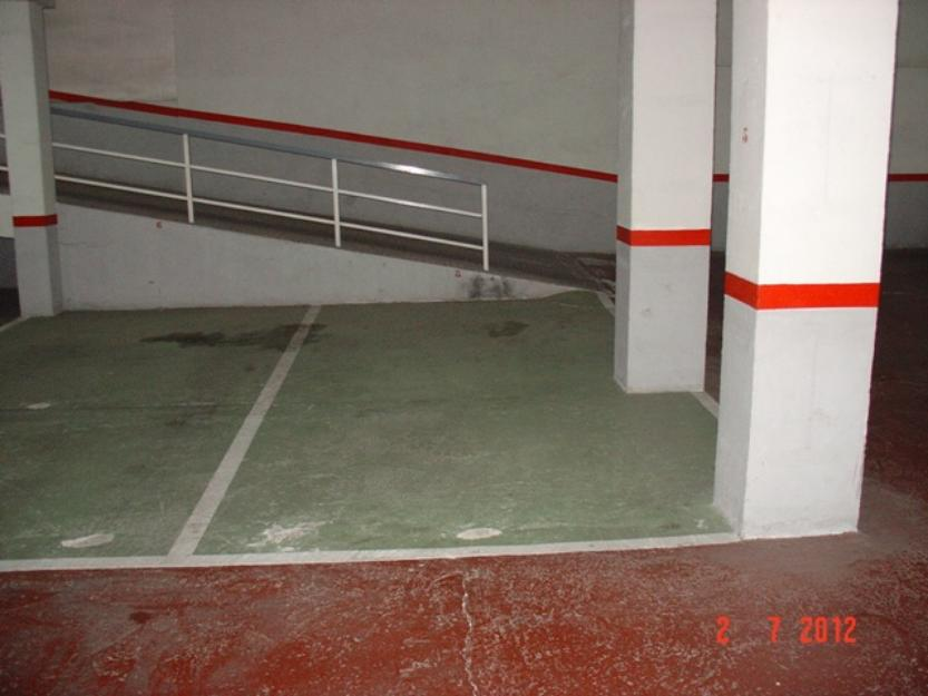 Plaza de garaje DOBLE en venta o alquiler