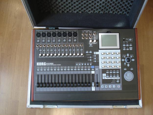 vendo mesa de mezclas digital korg d3200 mejor precio
