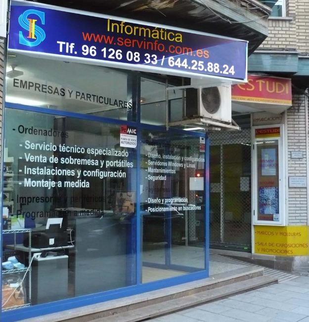 Servicios informáticos, mantenimientos