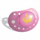 Chupete rosa con una corona, Petit royal - mejor precio | unprecio.es