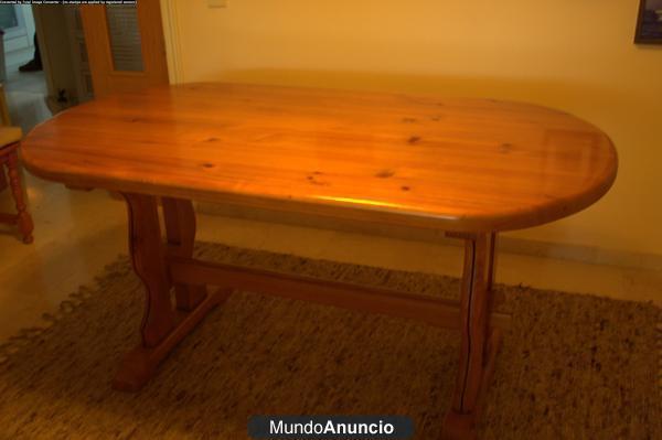 Mesa de pino baratiisima en buen estado mejor precio for Ordenadores mesa baratos