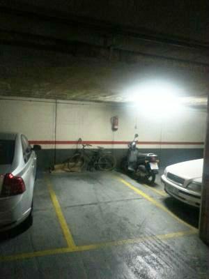 Alquiler de plaza de parking