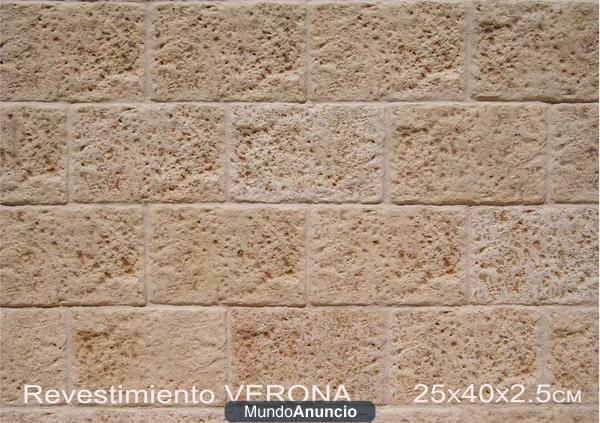 Revestimiento en piedra artificial mejor precio for Precio revestimiento piedra
