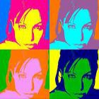 Andy Warhol personalizado sobre papel fotografico (100x100 cm) - mejor precio | unprecio.es