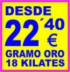 COMPRO ORO - COMPRA VENTA - VENDER JOYAS, RELOJ, MONEDA..ALICANTE ELCHE TORREVIEJA VILLENA - mejor precio   unprecio.es