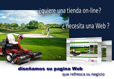 Diseño tiendas y paginas Web