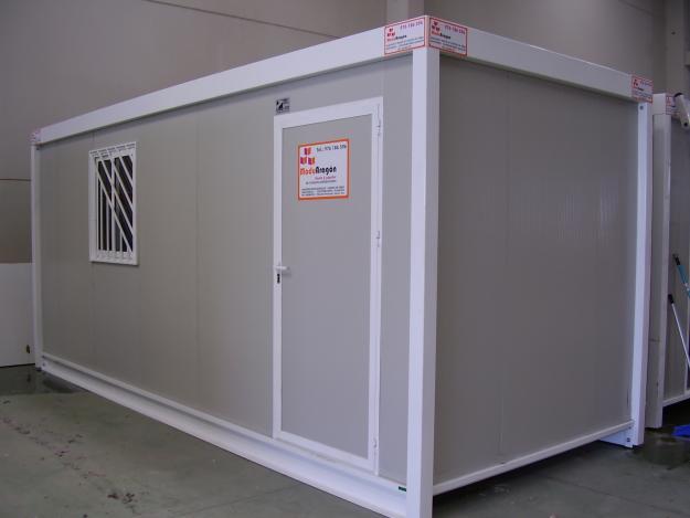 Venta usado y nuevo caseta de obra contenedor vallas for Sanitarios segunda mano