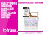 Mesas topping para yogurterías - mejor precio | unprecio.es