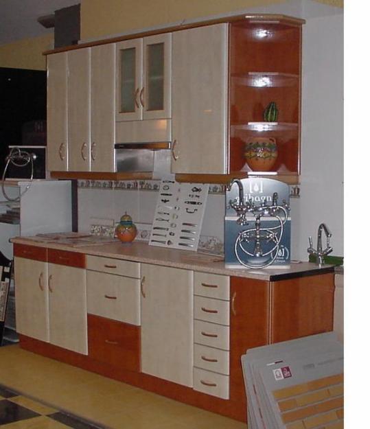 Muebles de cocina nuevos metros 738664 mejor precio for Cocina 2 metros