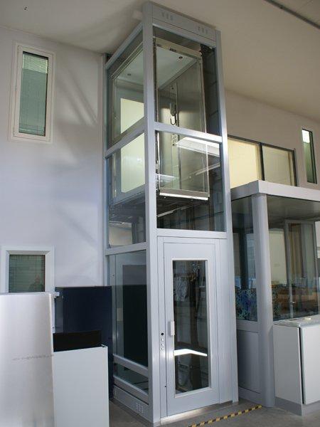 Elevador vertical ascensor de baja velocidad o unifamiliar - Precios montacargas para personas ...