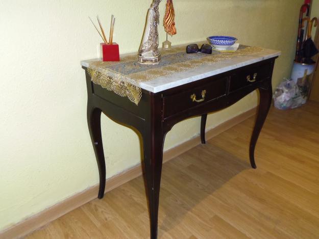 Mesa de escritorio antigua vintage mejor precio - Mesas de escritorio antiguas ...