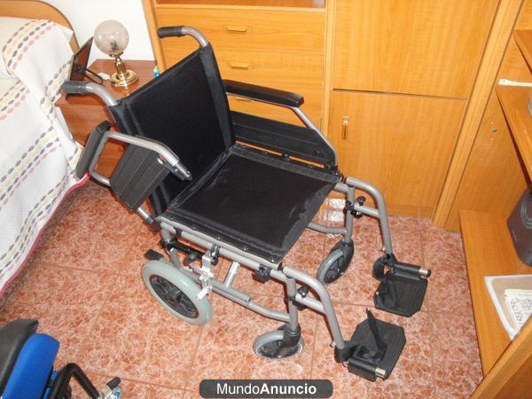 Vendo silla ruedas cama hospitalaria y sillon mejor for Vendo sillon cama