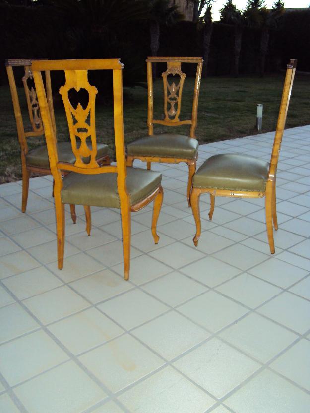 Bonitas sillas de madera tallada mejor precio for Sillas de madera precios