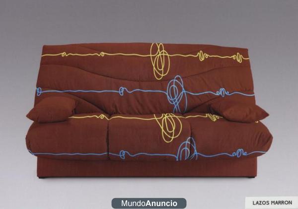 Sofa cama click clack nuevo a precio de fabrica mejor for Precio divan cama fabrica