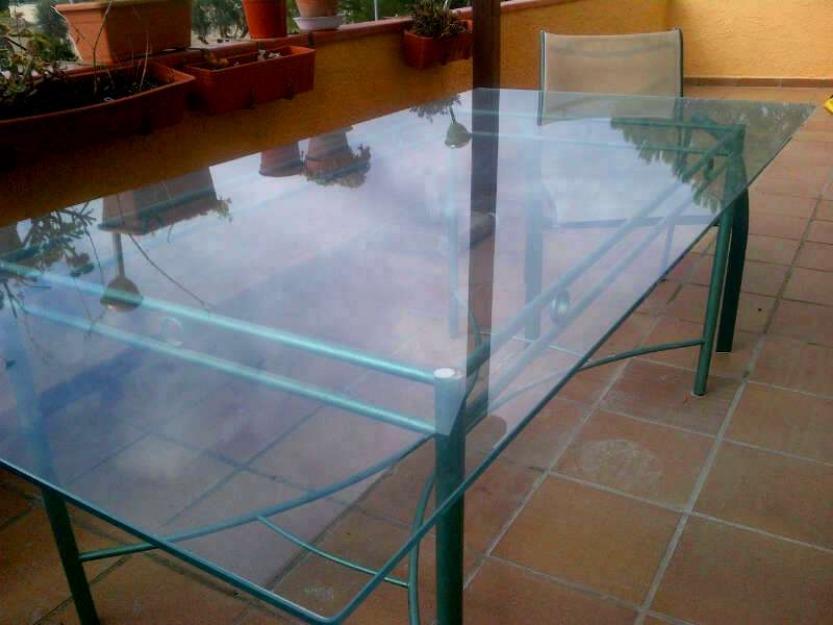 Mesa 4 sillas de terraza o jard n mejor precio for Sillas y mesas para jardin o terraza