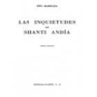 Las inquietudes de Shanti Andía. Novela. --- Austral nº206, 1972, Madrid. - mejor precio   unprecio.es