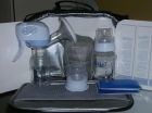 Extractor de leche avent eléctrico, con maletin completo. - mejor precio   unprecio.es