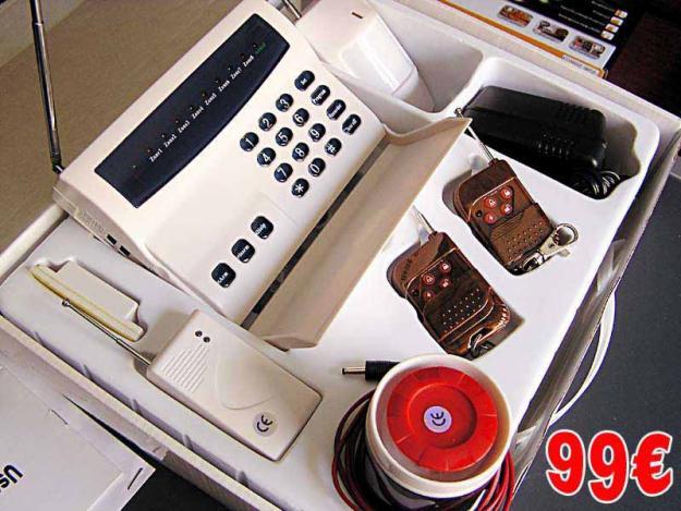 Central de alarma inalambrica para casa negocio mejor - Alarmas para casa precios ...