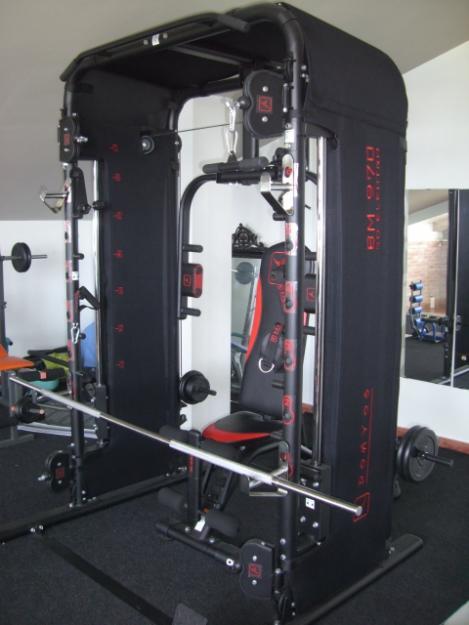 vendo gimnasio domyos bm 970 ed electro 600 euros mejor precio. Black Bedroom Furniture Sets. Home Design Ideas
