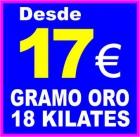SE COMPRA Y EMPEÑA ORO EN VILLENA (Alicante) - PAGO 17 EUROS GRAMO JOYAS ORO 18 KIALTES. - mejor precio   unprecio.es