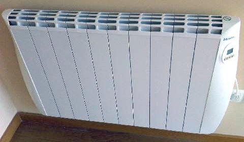 Radiador electrico bajo consumo precio latest good estufa for Calor azul consumo mensual