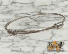 29 € - pulsera de hilo de plata con 2 nudos corredizos como antiguas pelo elefante - (madr - mejor precio | unprecio.es