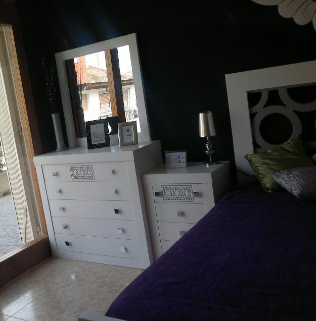 Dormitorio de madera maciza de pino mejor precio for Loquo muebles
