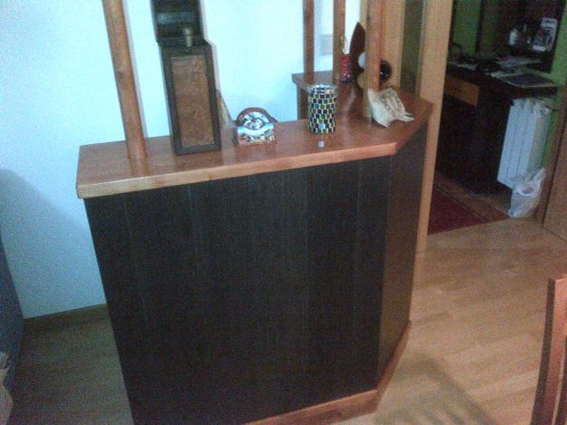 Vendo minibar en madera mejor precio for Vendo caseta madera jardin