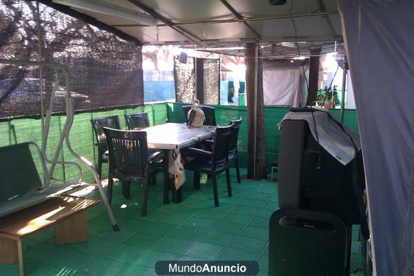 vendo caravana instalada en camping sirena dorada. 3900 909160