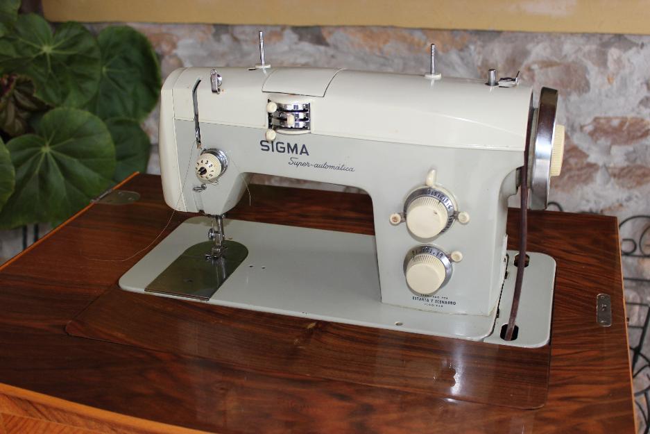 Maquina de coser Sigma Superautomatica modelo S - mejor