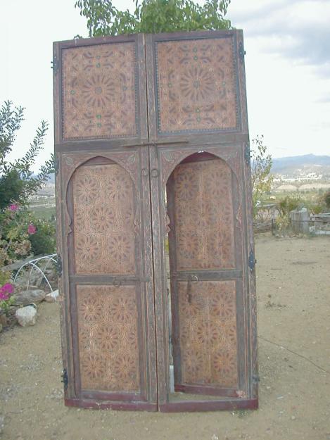 puertas antiguas marroquis policromadas mejor precio