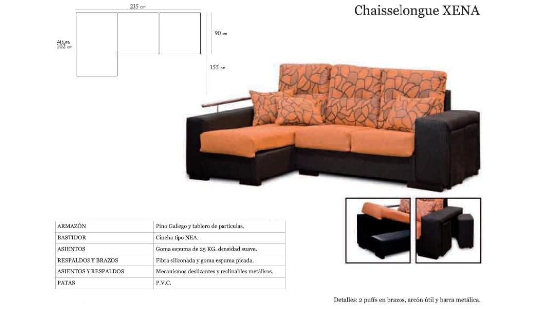 Sofa chaiselongue barato mejor precio - Sofa jardin barato ...