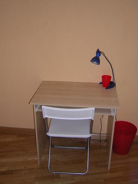 Oferta del mes se vende mesa de ordenador silla blanca for Mesa de ordenador blanca