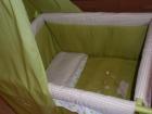 vendo minicuna verde y beig colección lola 08-09 impecable - mejor precio | unprecio.es