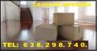 Cajas de mudanza madridº638.298.740ºcajass de mudanzas a domicilio - mejor precio | unprecio.es