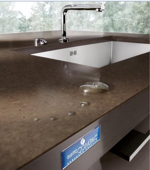 Encimeras de silestone compac quartz granito o marmol en for Encimeras de marmol