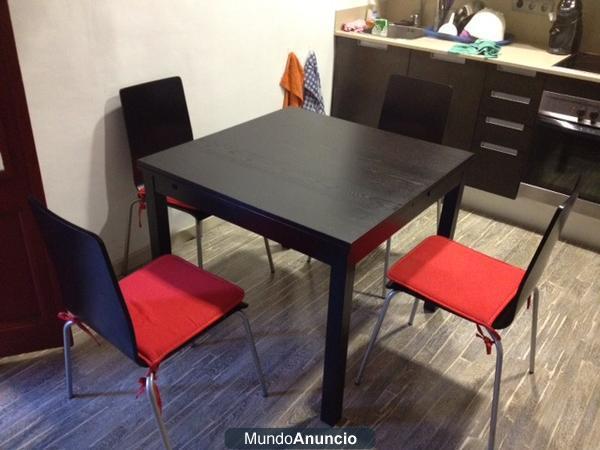 e vende Mesa de comedor, negro-marrón, IKEA SEGUNDA MANO ...