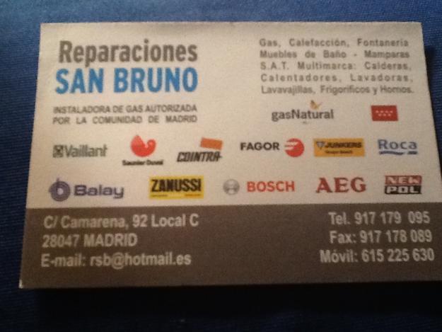 Reparaciones San Bruno
