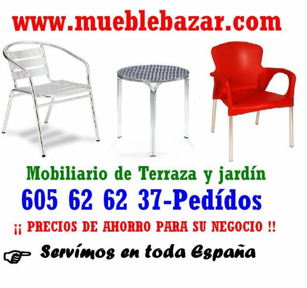 Sillas y mesas para terrazas mejor precio - Mesas y sillas de terraza ...