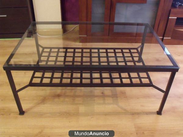 mesa de centro forja ikea modelo granas mejor precio